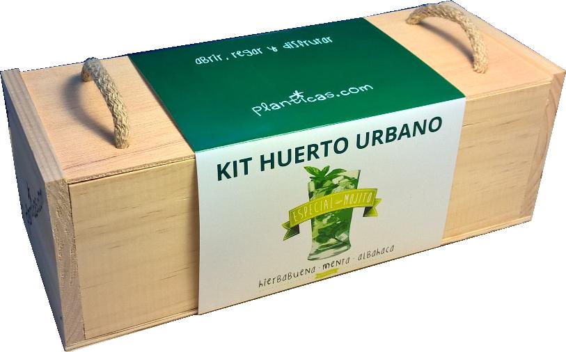 kit de huerto urbano